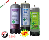 MaxxiLine co2 disposable bottles