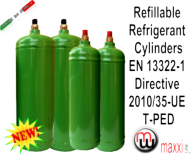 maxxiline refillable cylinder